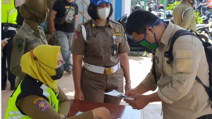 28 Orang Terjaring Operasi Yustisi yang Digelar di Pasar Mojogedang Karanganyar