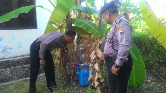 Detik-detik Dua Remaja Buang Bayinya di Dekat Puskesmas Tlogosari Wetan Semarang Terekam CCTV
