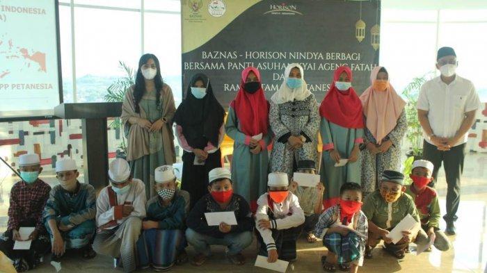 Baznas Kota Semarang & Hotel Horison Nindya Berbagi Kebahagiaan Bersama Anak Yatim