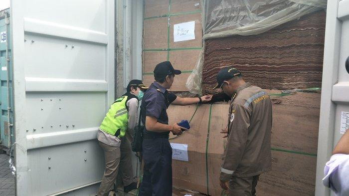 Sinergi Bea Cukai Tanjung Emas Inisiasi Joint Inspection dengan Karantina