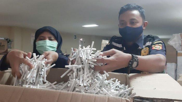 Bea Cukai Kudus Keluarkan 20 Surat Bukti Penindakan Rokok Ilegal, Terbanyak di Jepara