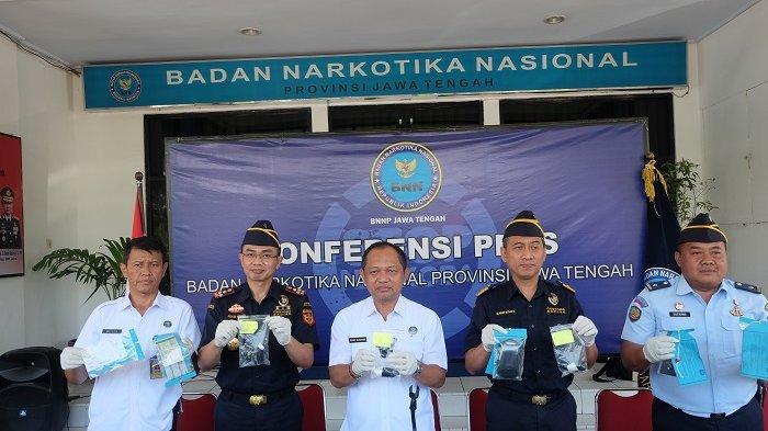 Ungkap Peredaran Narkotika, Bea Cukai bersama BNNP Jawa Tengah Ringkus 150 gram Dimasukkan Dubur