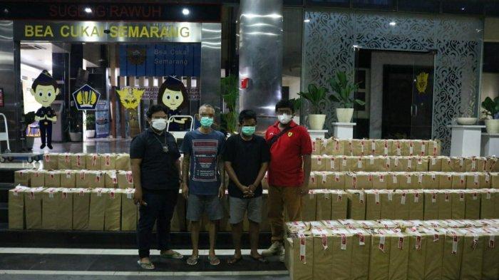 Bea Cukai Semarang Sita 608.000 Batang Rokok Ilegal di Grobogan