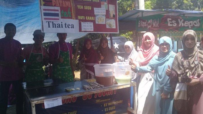 Mahasiswa Asal Thailand Jualan Roti di UIN Walisongo, Dananya untuk Operasional Organisasi