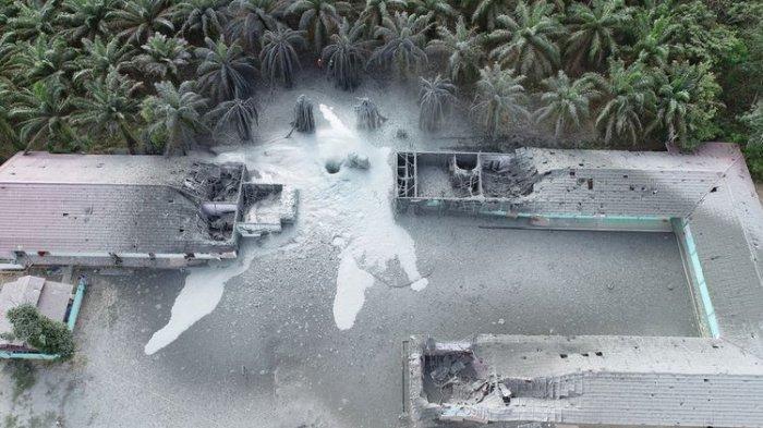 Pondok Pesantren Al Iksan Meledak, Hampir Seluruh Bangunan Rusak, Santri Diungsikan