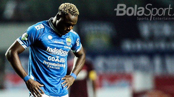 Hasil Babak I Skor 1-1 Persib Bandung Vs PS Sleman, Tandukan Saddam Dibalas Igbonefo