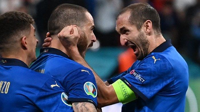 Sedang Berlangsung Babak II Skor 1-1 Italia Vs Inggris Final Euro 2021, Bonucci Samakan Kedudukan