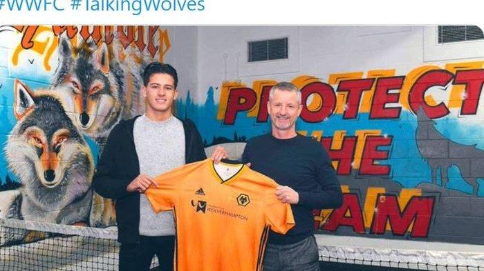 Inilah Sosok Justin Hubner Bek Wolverhampton Wanderers Bimbang Pilih Timnas Indonesia atau Belanda