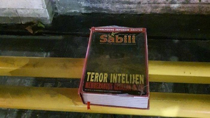 Warga Dekat Gereja di Jakbar Geger Temukan Benda Diduga Bom Buku Bertulis Teror Intelejen