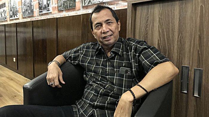 Wakil Ketua Perhimpunan Hotel dan Restoran Indonesia (PHRI) Jateng, Benk Mintosih, saat ditemui Tribun Jateng di Star Hotel Semarang, Kamis, (6/2/2020).