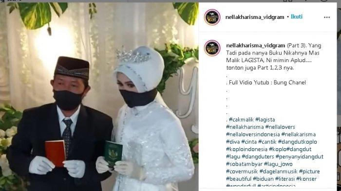 Beredar Video dan Foto Ijab Kabul Pernikahan Cak Malik yang Digosipkan Suami Nella Kharisma: Sah!