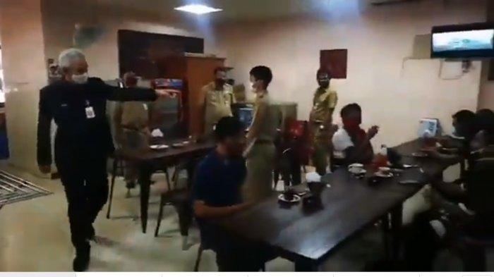 Viral Ganjar Marahdi Kantin DPRD Jateng karena Ada Kerumunan, Bambang Krebo:Saya BisaPahami