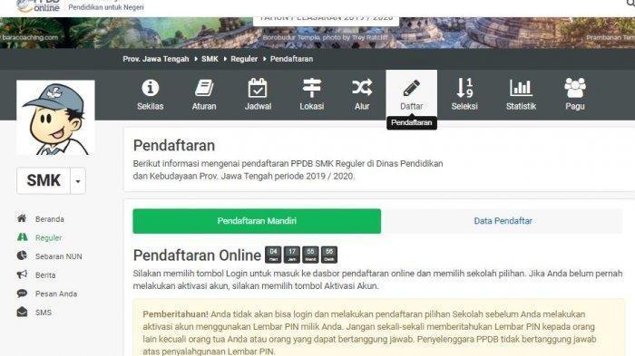 48 Peserta PPDB Online Mencabut Berkas dari SMK Negeri 1 Bawen