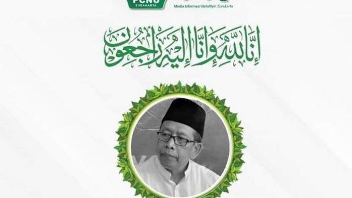 Kabar Duka, Ketua FKUB Sekaligus Rais Syuriah PCNU Karanganyar Ahmad Hudaya Wafat