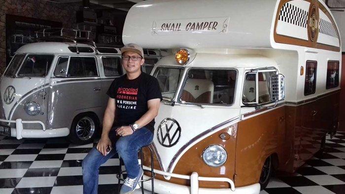 BESI TUA Disulap Yudi Yumos Jadi Replika Mobil Volkswagen Disukai Dunia