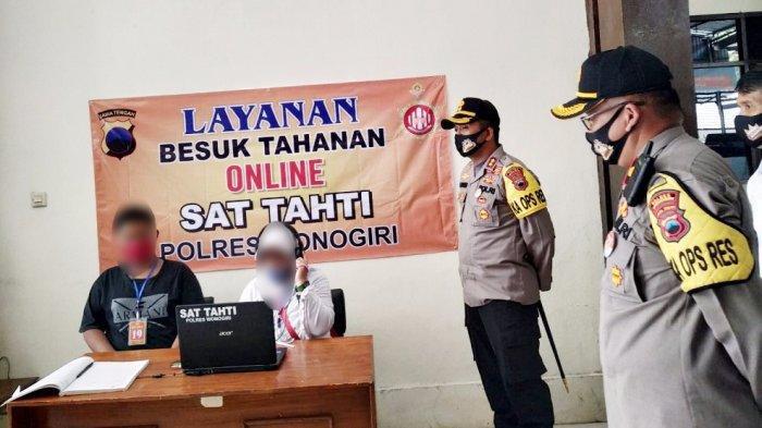 AKBP Cristian Tobing Bikin Layanan Jenguk Tahanan Polres Wonogiri Via Online, Kontak 081329365888