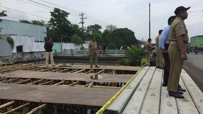 Satpol PP Kota Semarang Angkut 20 Beton Bekas PJM, Ini Alasannya