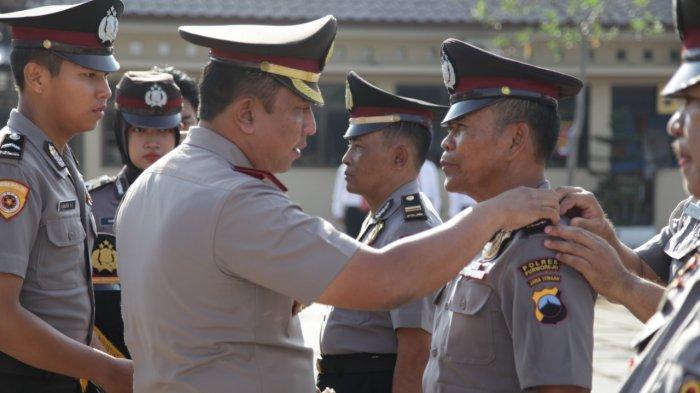 3 Anggotanya di Polres Purworejo Naik Pangkat, Ini Pesan AKBP Indra Kurniawan Mangunsong
