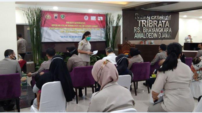 Nurhayati Bersyukur Bisa Ikutkan Anaknya Operasi Bibir Sumbing Gratis di RS Bhayangkara Semarang