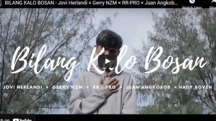 Chord Kunci Gitar Bilang Kalo Bosan Jovi Herlandi × Gerry NZM
