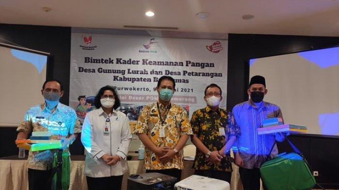 BBPOM Gelar Bimtek Kader Keamanan Pangan Bagi Dua Desa Pilot Project di Kabupaten Banyumas