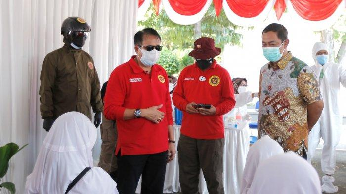 Hendrar Prihadi Dibantu BIN Lawan Kasus Covid-19 di Kota Semarang, Percepat Vaksinasi