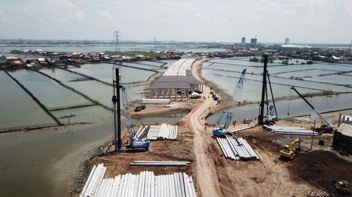 Kades Sidogemah Harap Tol Semarang-Demak Benar-benar Bisa Jadi Penahan Rob