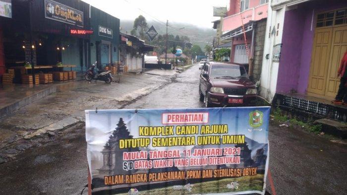 Dukung Jateng di Rumah Saja, Seluruh Objek Wisata di Banjarnegara Tutup Dua Hari