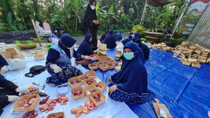 BKPRMI Jateng Bagikan 2.000 Paket Daging Kurban di 5 Daerah