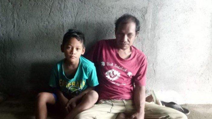 Fadhilah Bocah 10 Tahun Belajar Naik Sepeda Demi Boncengkan Ayah Tunanetra Jualan Mainan