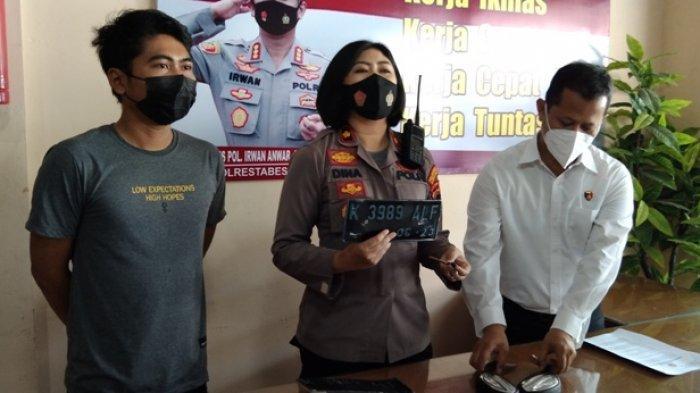 Dua Bocil Semarang Pencuri Motor, Buat Keliling Sampai Kota Lama, Spion dan Pelat Nomor Dipreteli