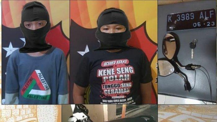 Nasib Terkini Duo Bocil Pencuri Sepeda Motor Milik Pegawai Babershop di Semarang