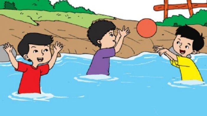 Kunci Jawaban Tema 7 Kelas 2 SD Halaman 151 152 153 154 Buku Tematik Subtema 3 Bermain Bola Estafet