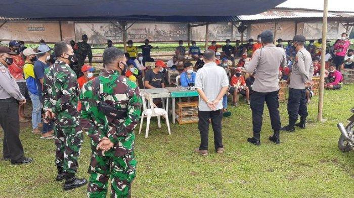 Bikin Kerumunan, Turnamen Bola Voli dan Balap Merpati di Kutasari Purbalingga Akhirnya Dibubarkan