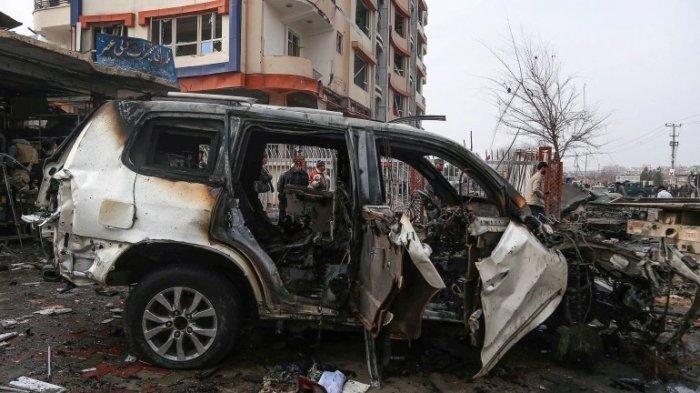 Ibu Kota Afghanistan Diguncang 3 Bom, 10 Orang Tewas