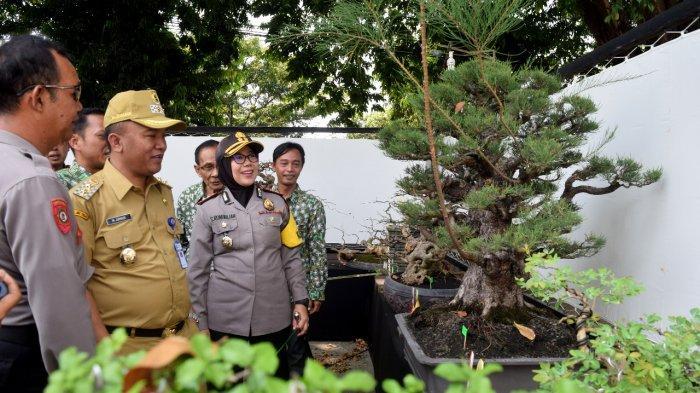 Adakan Kontes Bonsai Skala Nasional, Kapolres Tegal Kota Ingin Polri dan Masyarakat Selalu Harmonis