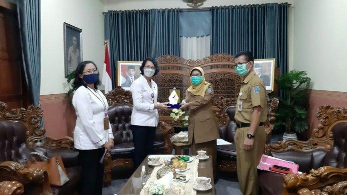 Silaturahmi ke Bupati Tegal, Ini Beberapa Program yang Disampaikan Balai Besar POM Semarang.