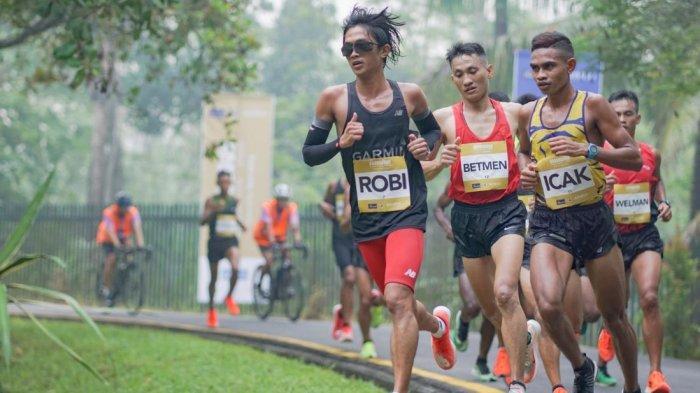 Borobudur Marathon 2020 Diwarnai Perjuangan Atlet Lepas Sepatu karena Jebol