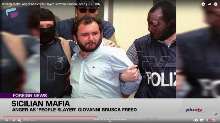 Giovanni Brusca Bos Mafia Italia Bebas Setelah 25 Tahun Mendekam di Penjara