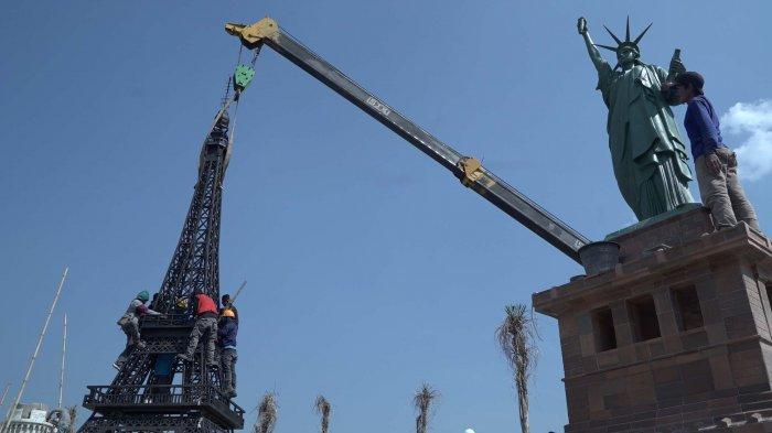 Boyolali Akan Miliki Monumen Patung Keramik Terbesar se-Indonesia, Ada Eiffel dan Liberty