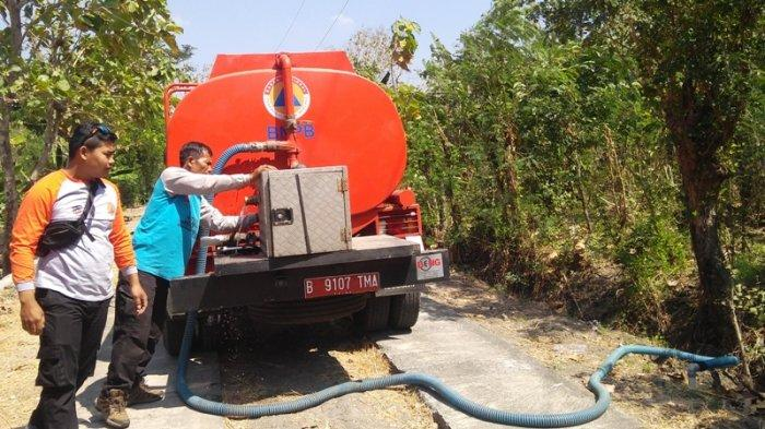 Kekeringan Meluas, BPBD Karanganyar Tunggu Bantuan Sumur Dalam dari Bupati