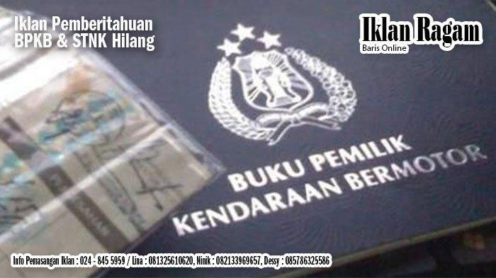 Hotline Semarang : Pembayaran Pajak Kendaraan Tahunan dan 5 Tahunan