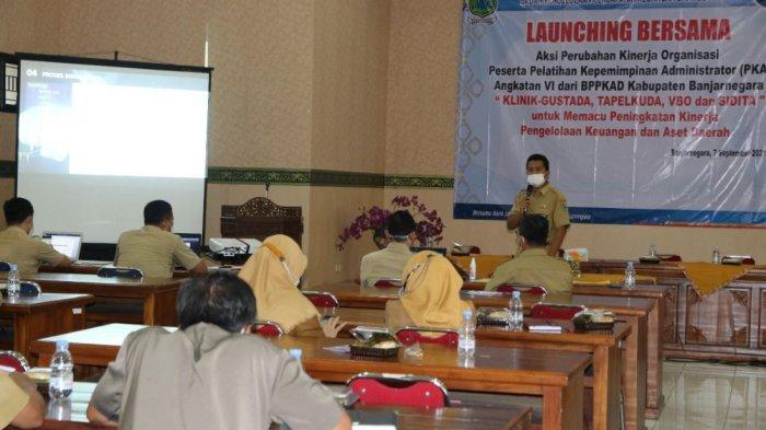 Tingkatkan Kinerja Pengelolaan Keuangan Daerah, BPPKAD Banjarnegara Launching 4 Inovasi
