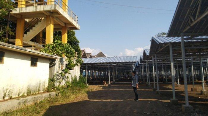 Pemkab Kendal Lengkapi Sarpras Pasar Darurat Weleri, Pedagang: Akhir September Bisa Buat Jualan