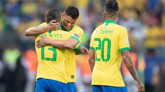 Prediksi Susunan Pemain Brasil Vs Jerman Olimpiade Tokyo 2021, Dani Alves Pimpin Skuad Muda Selecao