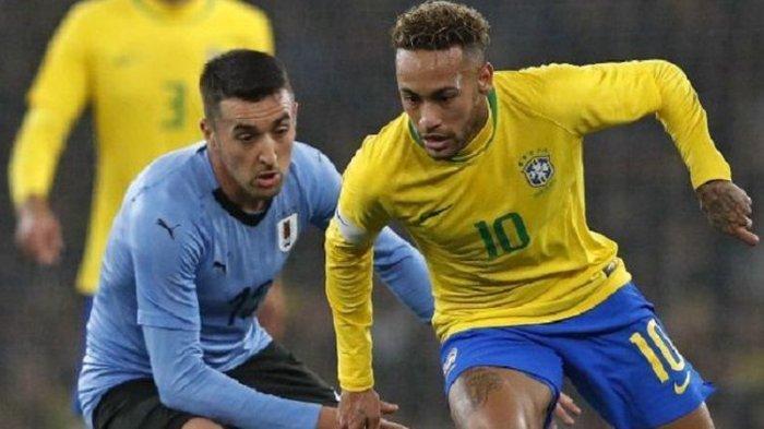 Laga Paraguay vs Brasil Kualifikasi Piala Dunia 2022 Zona Conmebol, Ini LINK Live Streamingnya