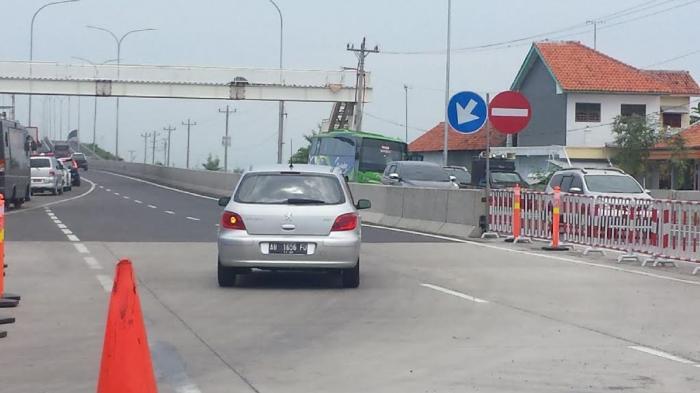 Kapolri Jenderal Pol Tito Bersyukur Antrean di Pantura Brebes Hanya 500an Meter