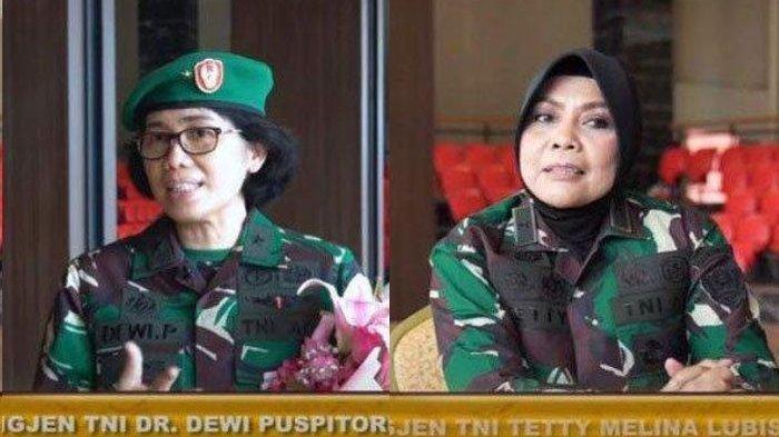 Sosok 2 Jenderal TNI Wanita, Baru Dilantik KSAD Jenderal Andika Perkasa, Punya Kiprah yang Mentereng