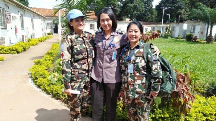 Cerita Bripka Eka Personel Polresta Solo Ikuti Misi Perdamaian PBB di Afrika Tengah