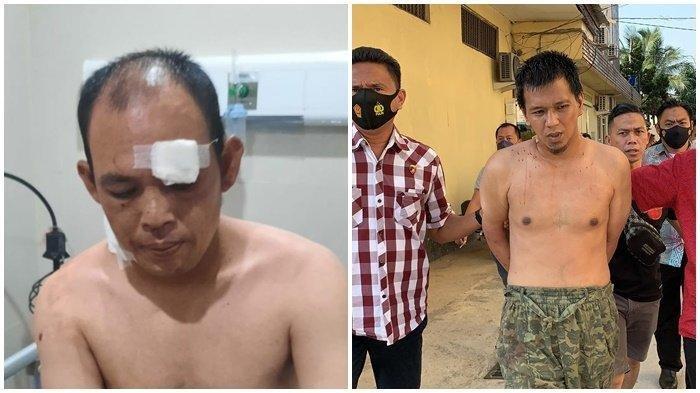 Bripka Ridho Keluar Pos Polisi Berlumuran Darah, Pelaku yang Menusuknya Ia Gembok di Dalam